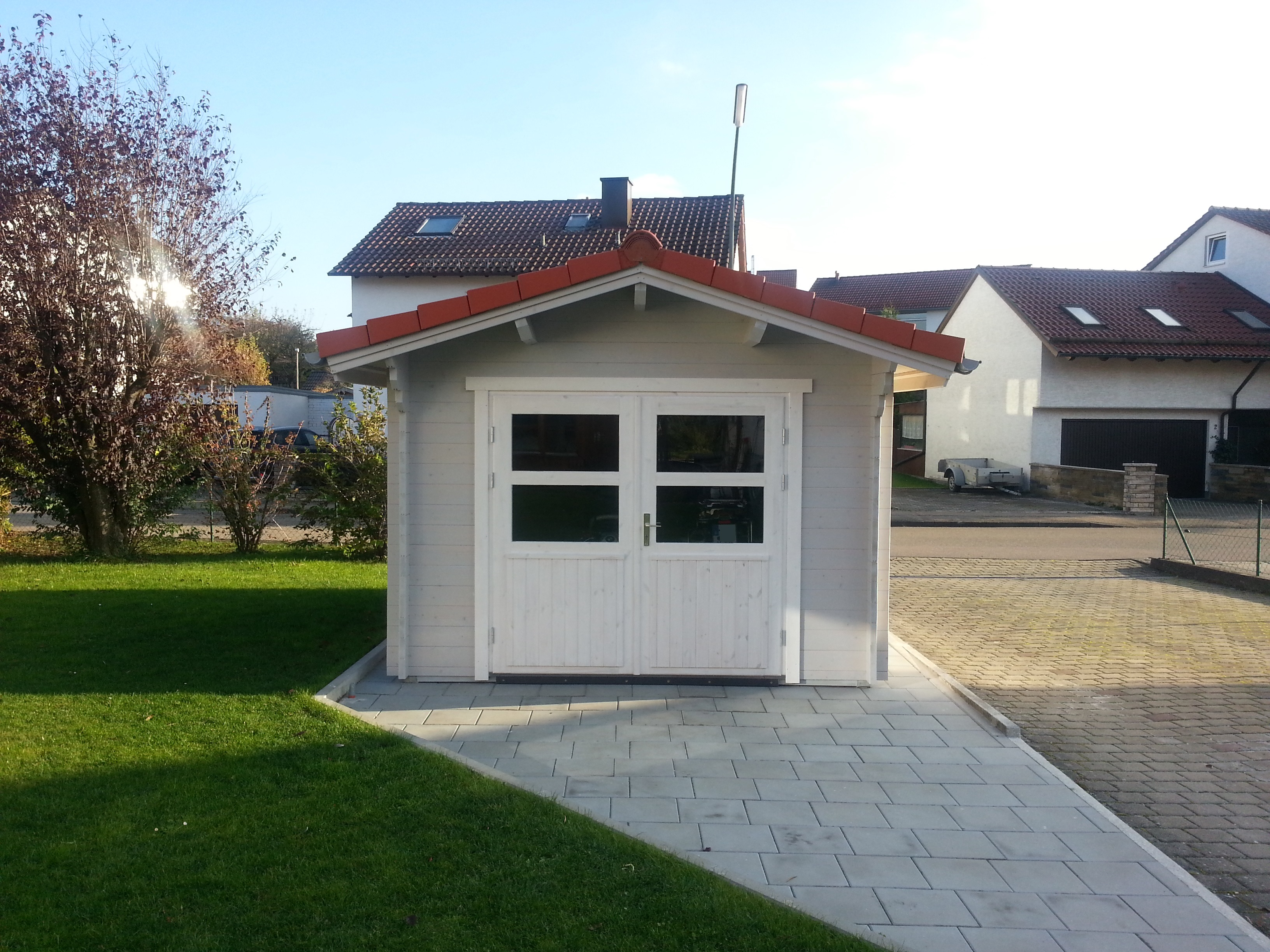 carport mit gartenhaus latest exclusiv carport with carport mit gartenhaus affordable carports. Black Bedroom Furniture Sets. Home Design Ideas